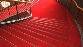 三郷市 文化会館 大ホール階段