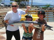 Family friendly sportfishing kona hawaii