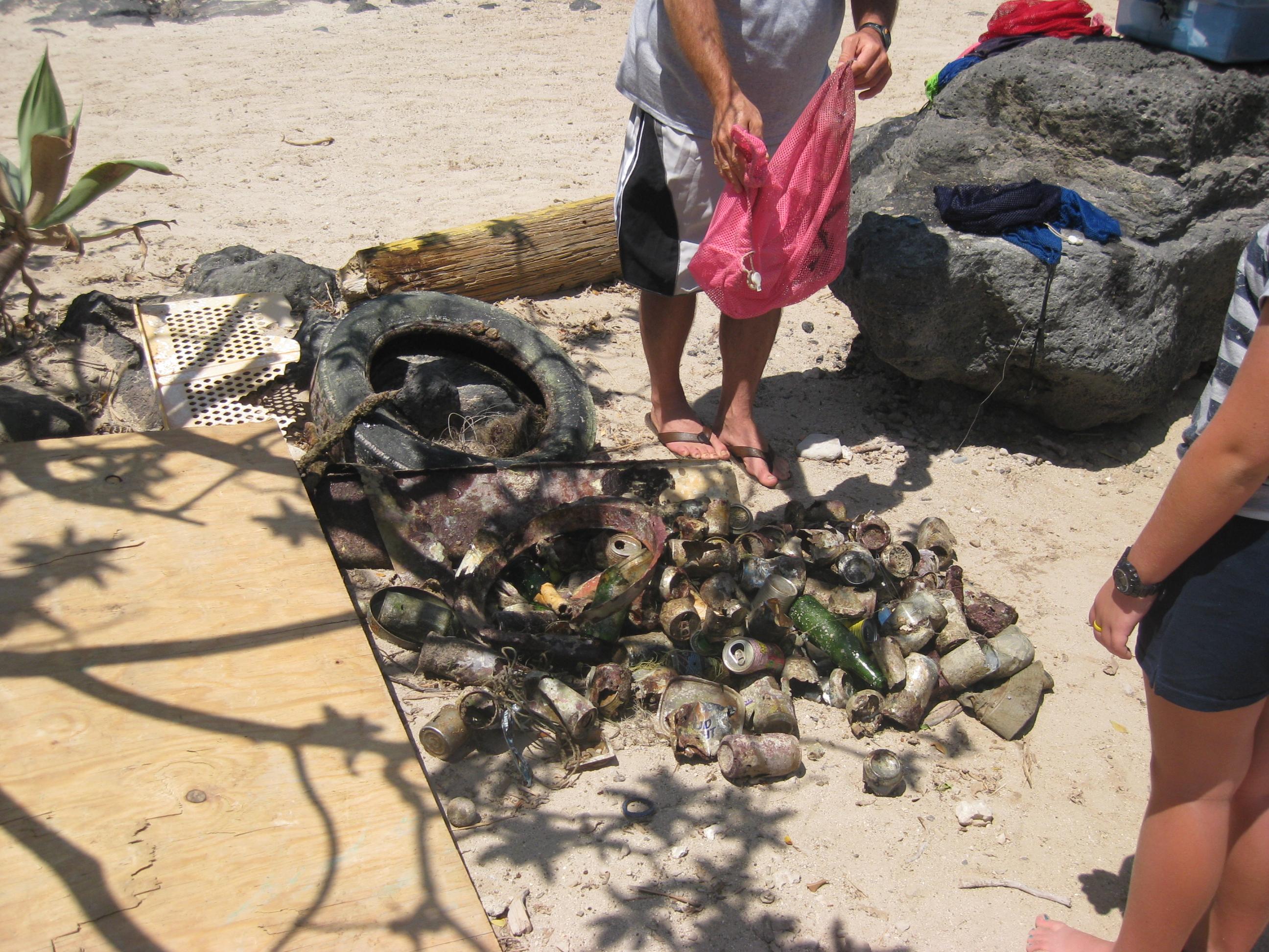Kawaihae Ocean Cleanup