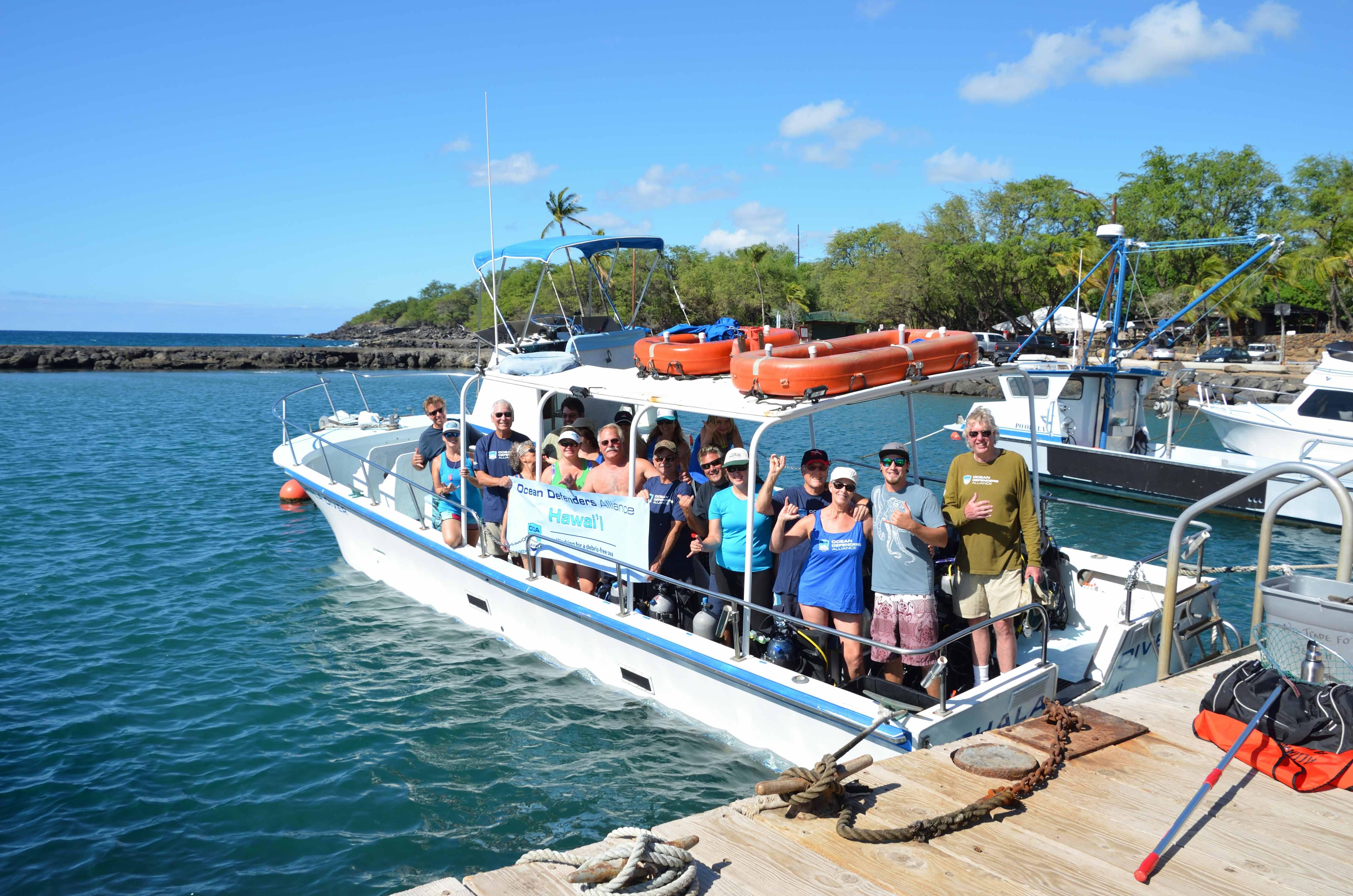 Ocean Defenders Cleanup Crew