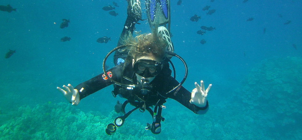 Scuba Dive Training and Certification Hawaii
