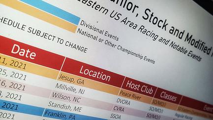2021 APBA Midwest Racing Schedule