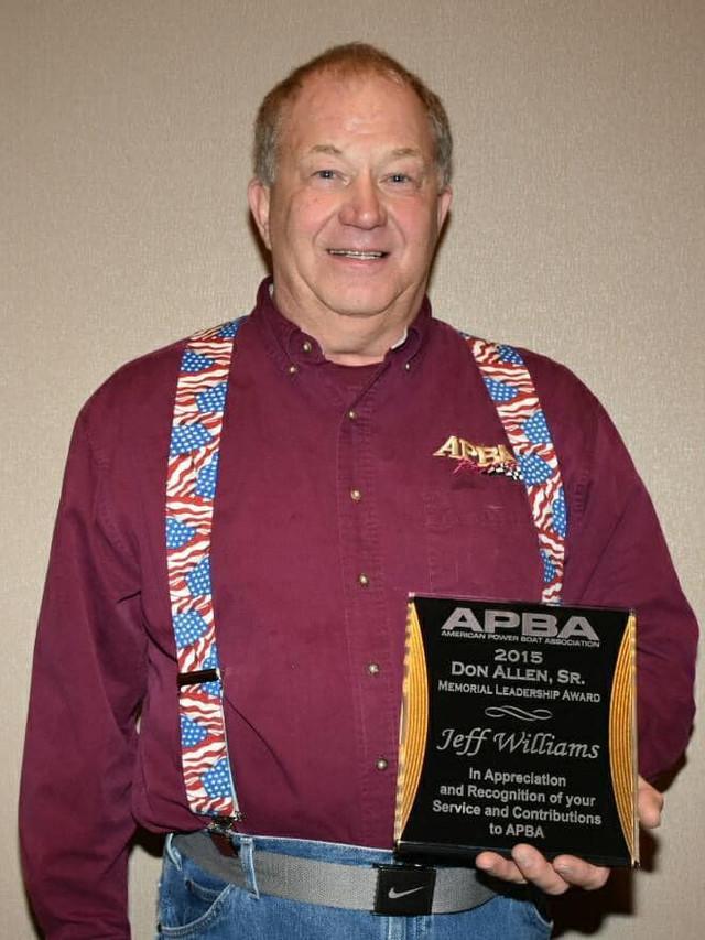 Don Allen Sr Award 2015