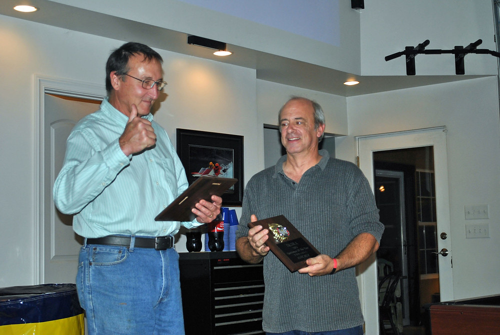 Doug Follett and Dave Deck - TRORA 2015 Sportsmen of the Year
