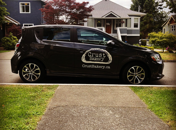 We now have a dedicated delivery car!