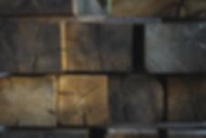 Rustic English Oak Beams green and air dried