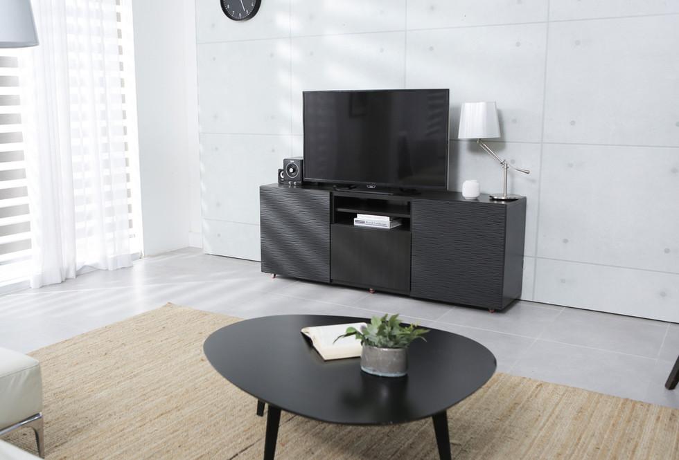 Noir TV Stand