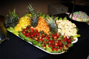 Would you like a fruit tray?