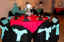 Reception hall table