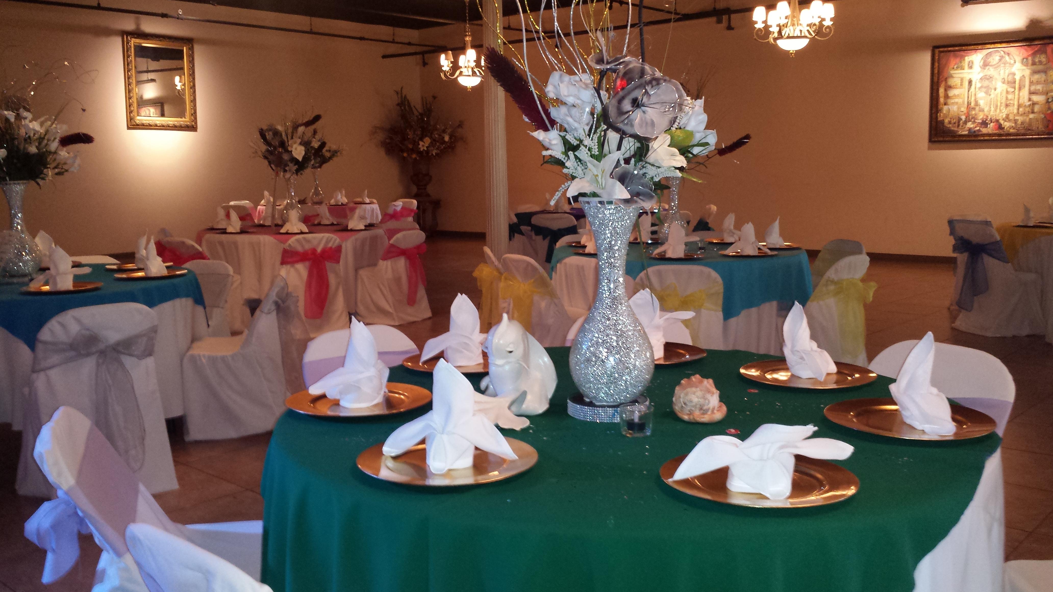 Festive tables tonight