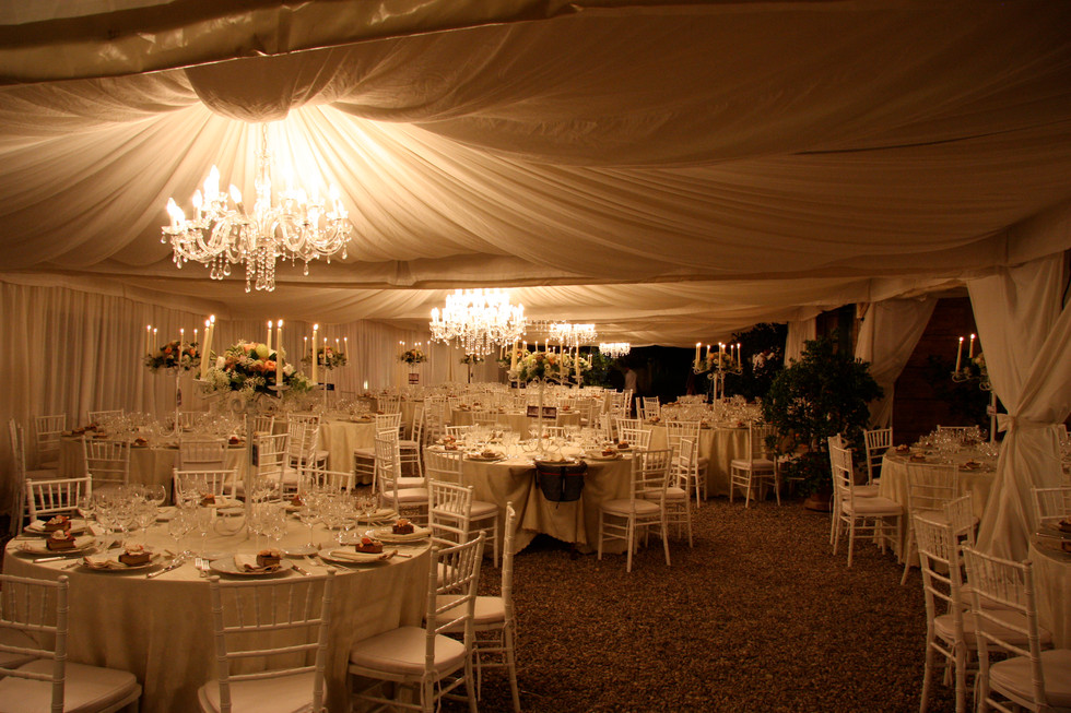 Wedding reception in Siena