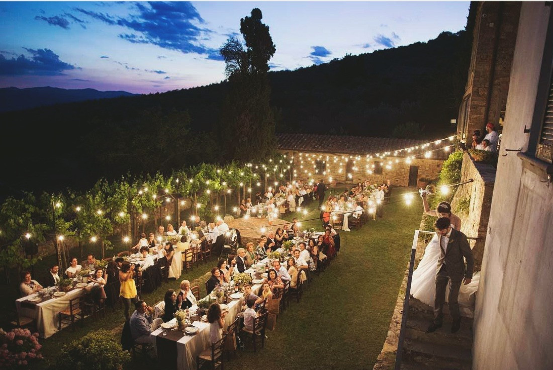 Destination Wedding in Tuscan Countryside