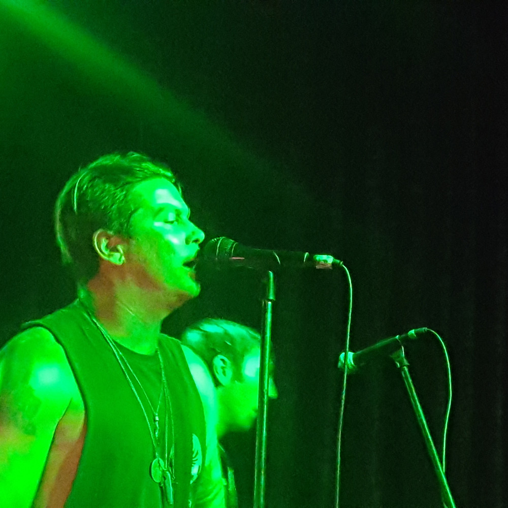 Lead singer, Scott Russo