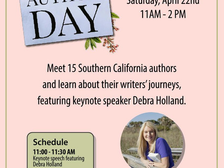 Romance Author Day at the Anaheim Library