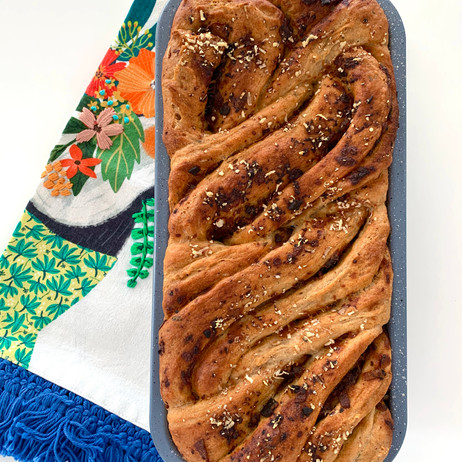 Savoury Bacon & Onion Jam Bread