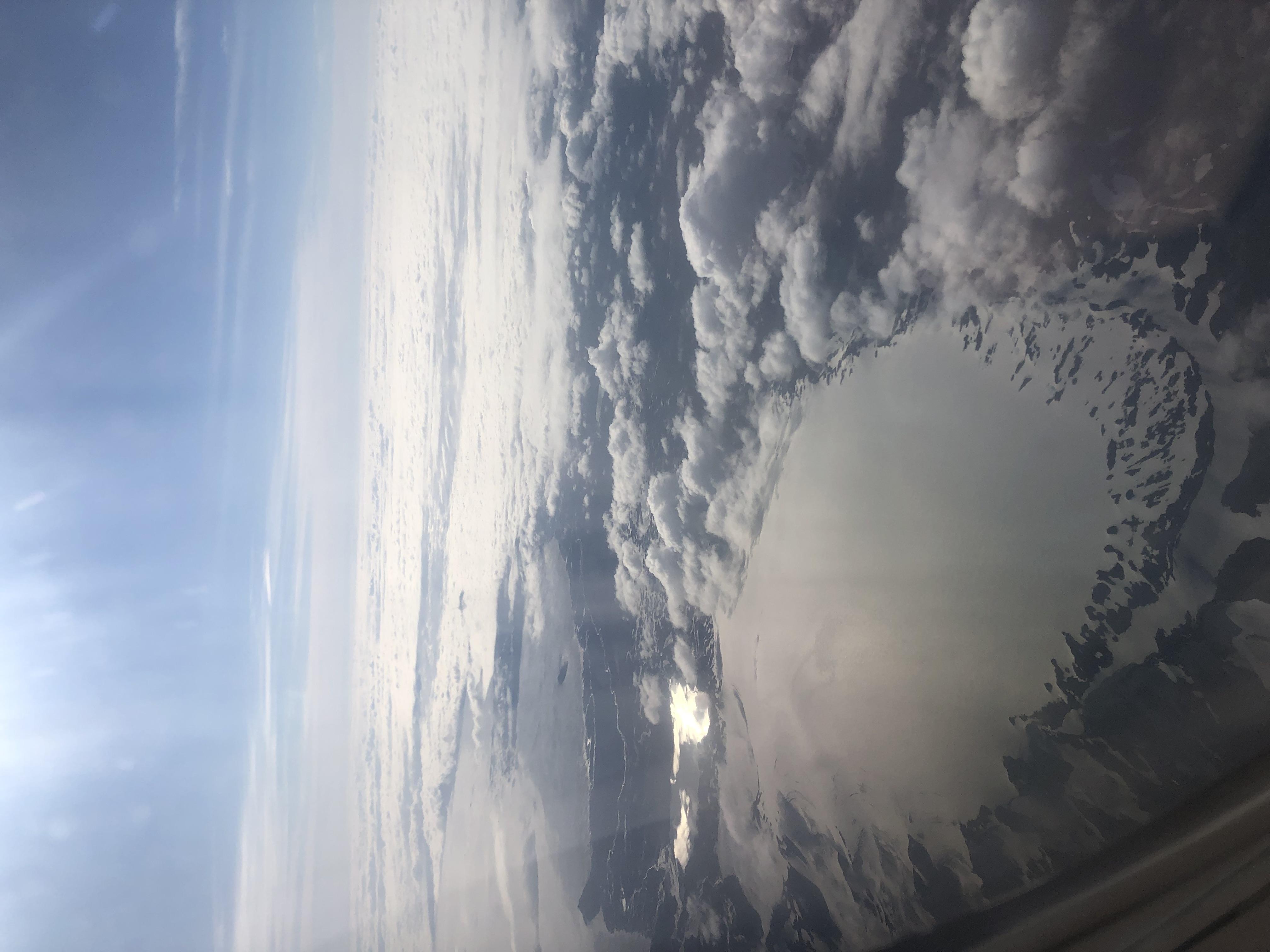 islande vue du ciel