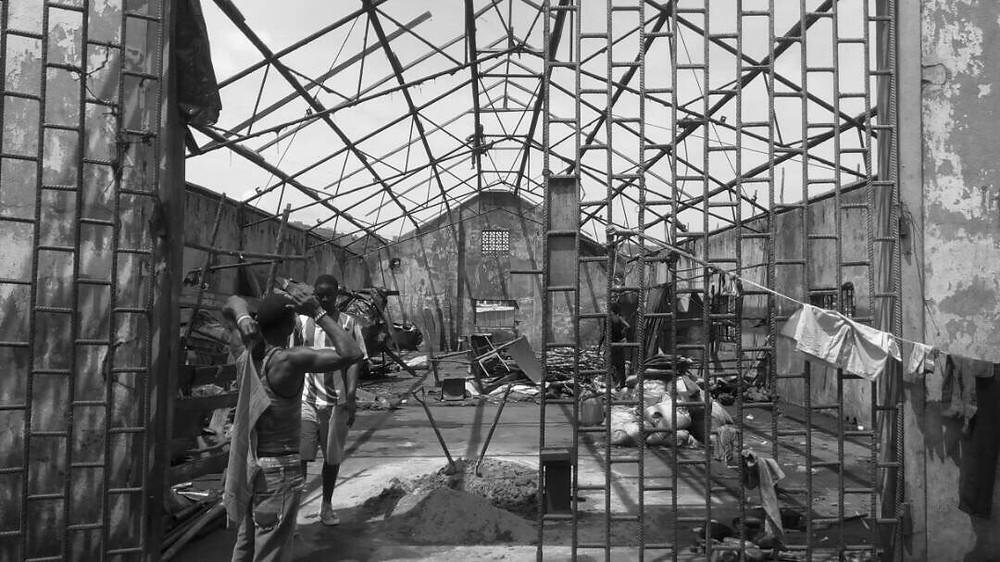 Renovation of the main warehouse