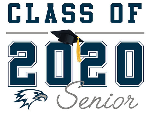 Vista Del Lago HS - Senior 2020 (White)