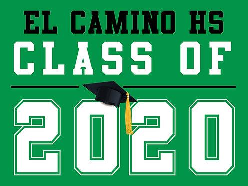 El Camino HS - Class of 2020 (Green)