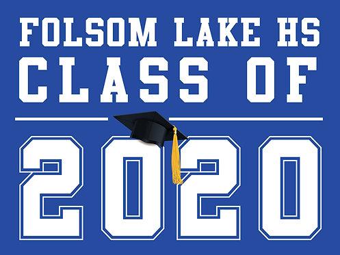 Folsom Lake HS - Class of 2020 (Blue)