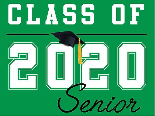 El Camino HS - Senior 2020 (Green)