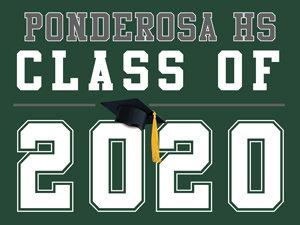 Ponderosa HS - Class of 2020 (Green)