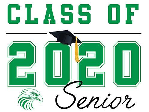 El Camino HS - Senior 2020 (White)