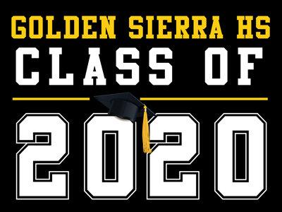 Golden Sierra HS - Class of 2020 (Black)