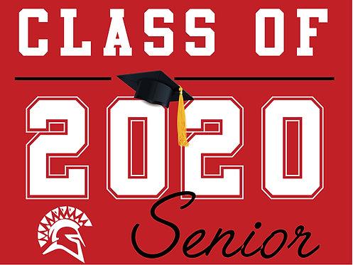 San Juan HS - Senior 2020 (Red)