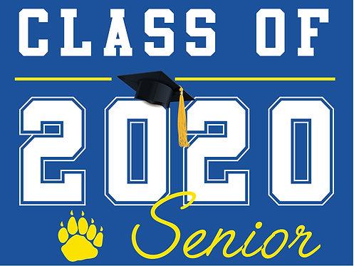 Del Campo HS - Senior 2020 (Blue)