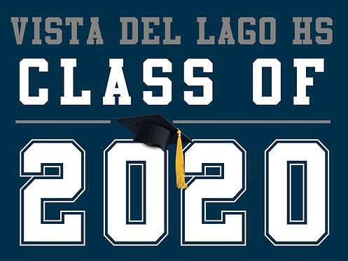 Vista Del Lago HS - Class of 2020 (Blue)