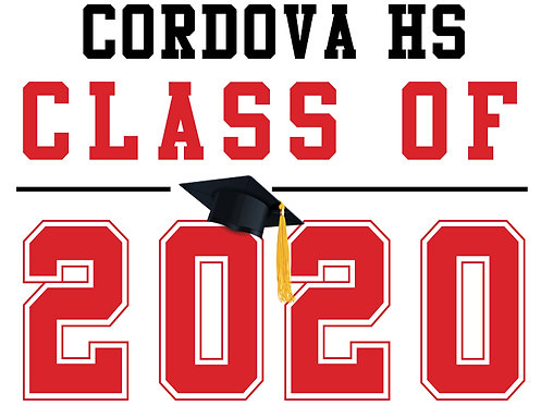 Cordova HS - Class of 2020 (White)