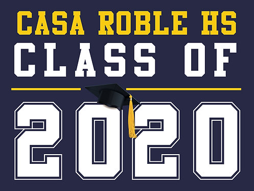 Casa Roble HS - Class of 2020 (Blue)