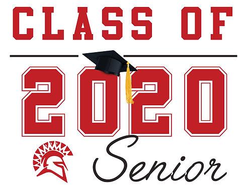 San Juan HS - Senior 2020 (White)
