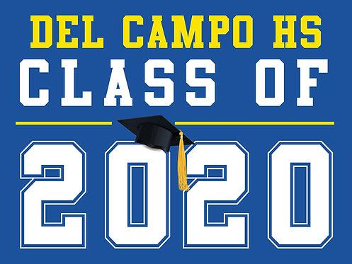 Del Campo HS - Class of 2020 (Blue)