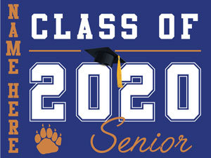 El Dorado HS - Senior with name (Blue)