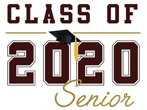 Kinney HS - Senior 2020 (White)
