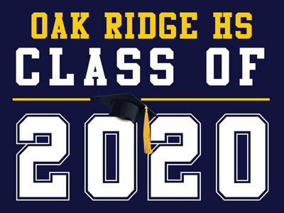 Oak Ridge HS - Class of 2020 (Blue)
