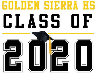 Golden Sierra HS - Class of 2020 (White)