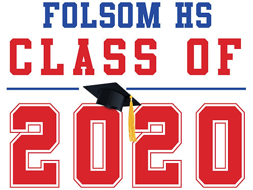 Folsom HS - Class of 2020 (White)
