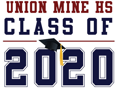 Union Mine HS - Class of 2020 (White)