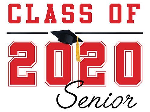 Cordova HS - Senior 2020 (White)