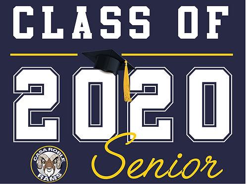 Casa Roble HS - Senior 2020 (Blue)