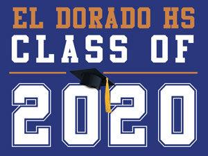 El Dorado HS - Class of 2020 (Blue)