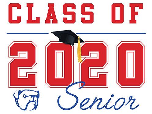 Folsom HS - Senior 2020 (White)