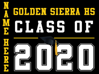 Union Mine HS - Class of 2020 with name (Black)