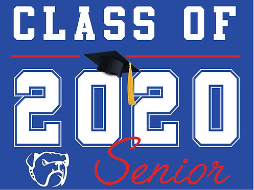 Folsom HS - Senior 2020 (Blue)