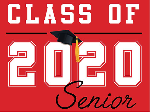 Cordova HS - Senior 2020 (Red)
