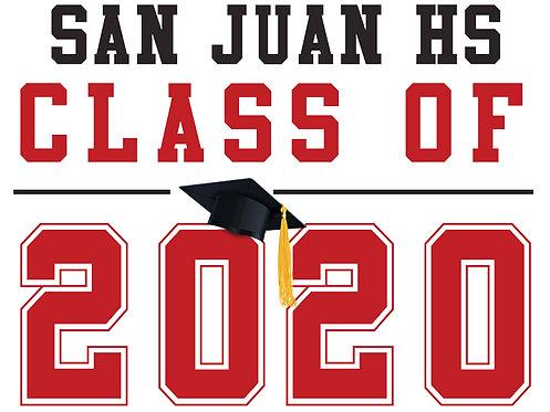 San Juan HS - Class of 2020 (White)