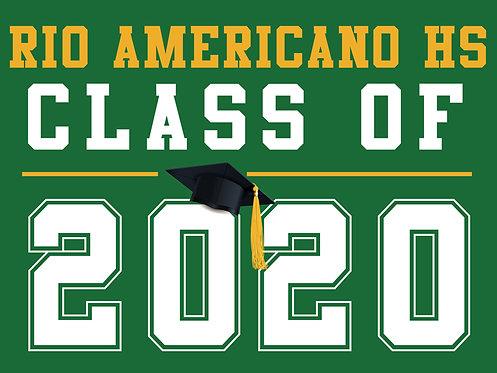 Rio Americano HS - Class of 2020 (Green)